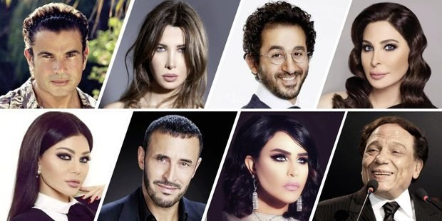 Egyptians dominate the top 100 Arab celebrities