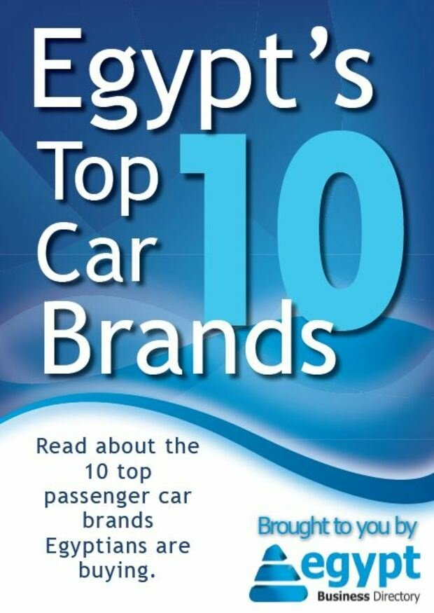 What cars do Egyptians buy?