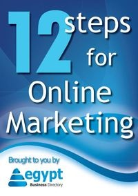 12 steps to online marketing in Egypt