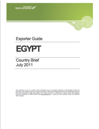 Egypt - Exporter Guide July 2011