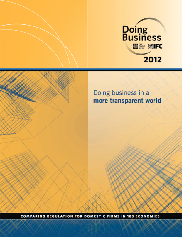 Doing Business in a Transparent World 2012