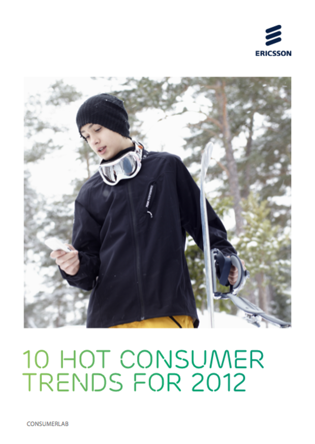 10 hot consumer trends for 2012