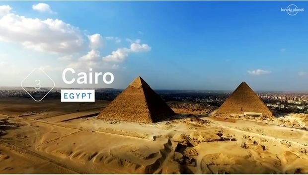Cairo ranked 3rd must visit city in 2020