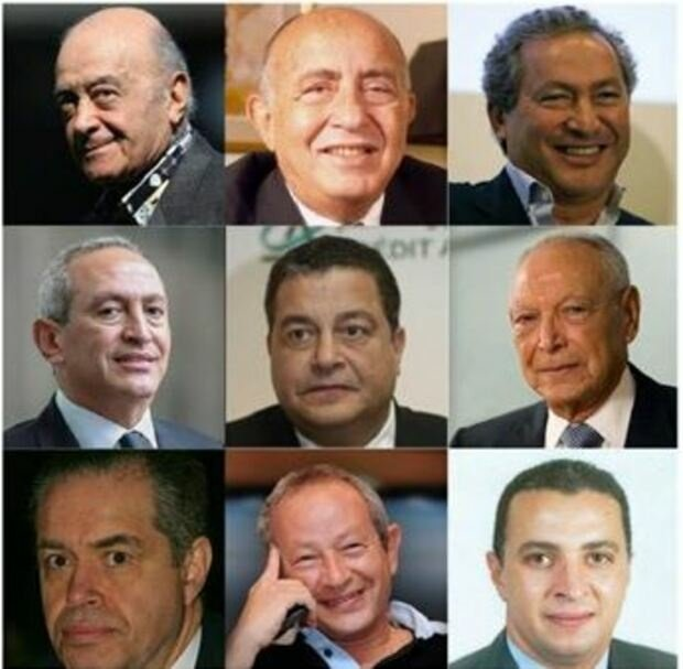 The 10 richest men in Egypt 2020