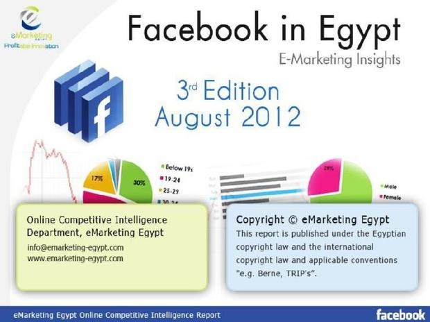 eMarketing insights: Facebook in Egypt