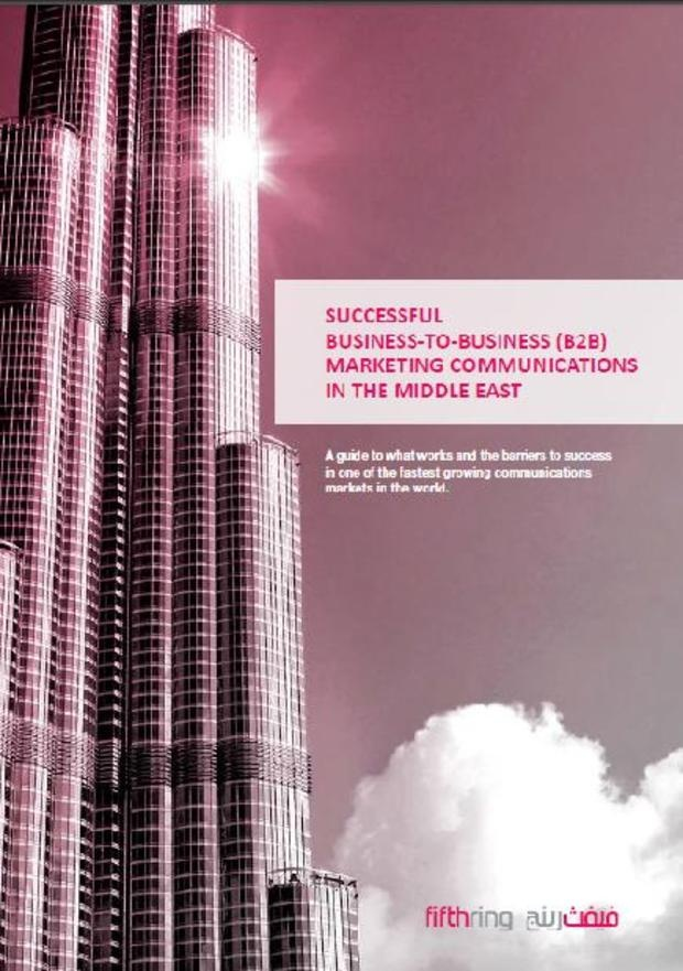 Successful B2B-marketing in the Middle East
