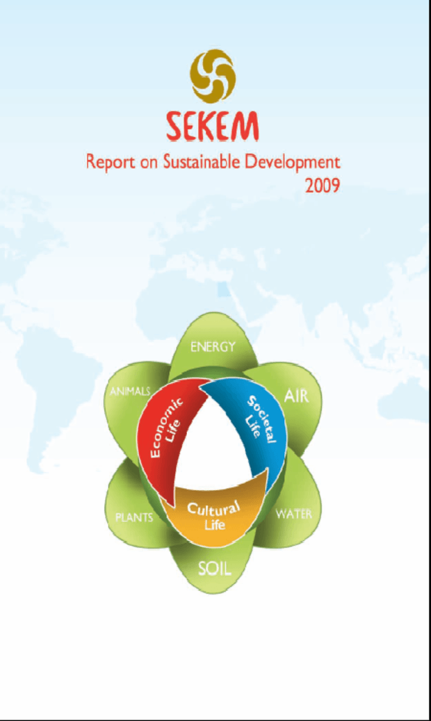 Report on Sustainable Development 2009