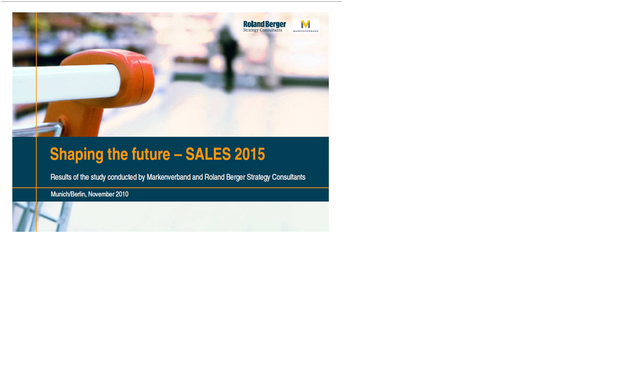 Study: Shaping the future - Sales 2015