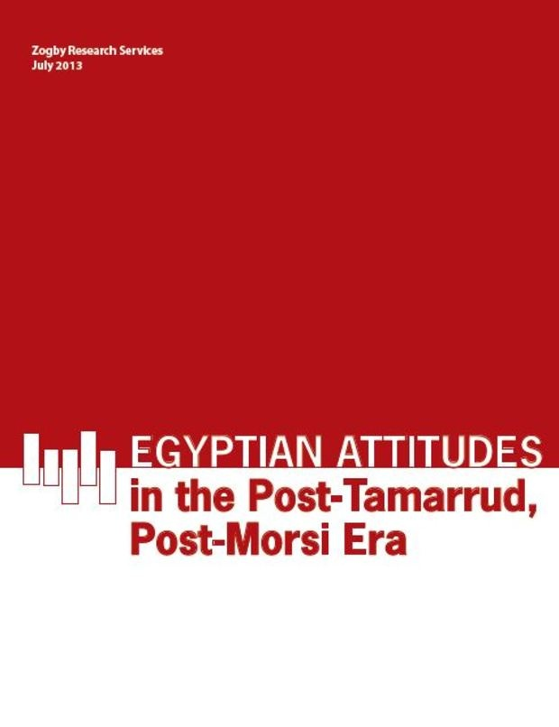 Egyptian attitudes in the Post-Tamarrud, Post-Morsi era