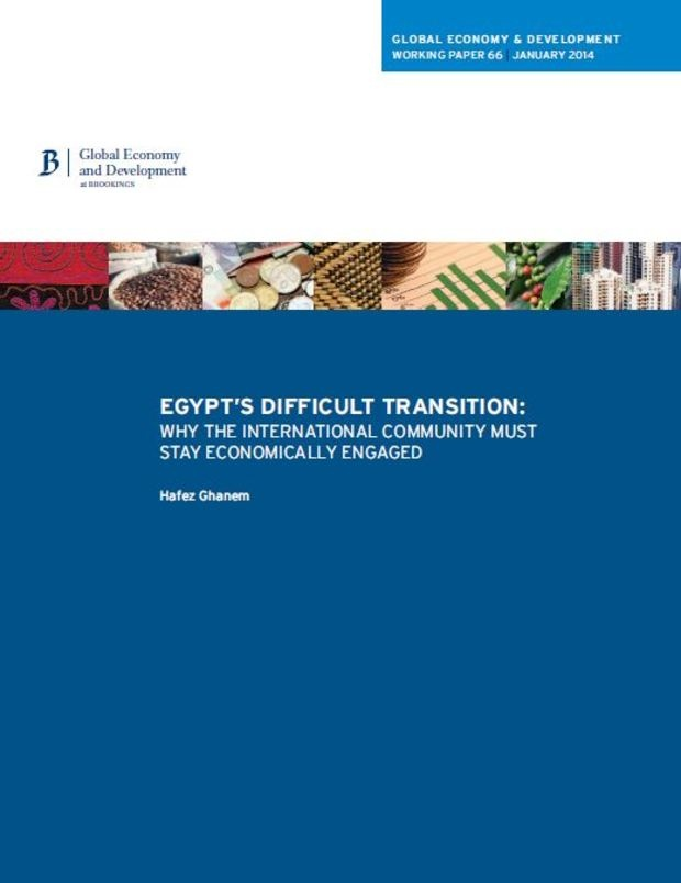 Why stay economically engaged in Egypt?