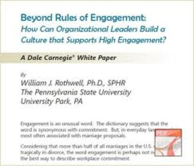 Employee Engagement - Beyond Rules of Engagement